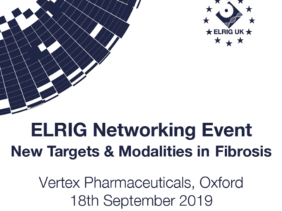 TherapeutAix to attend the 'New Targets & Modalities in Fibrosis' ELRIG Networking event on the 18th September